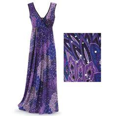 Sparkling Paisley Dress - Women's Clothing & Symbolic Jewelry – Sexy, Fantasy, Romantic Fashions