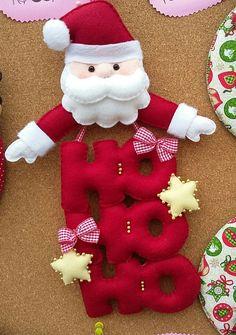 Discover recipes, home ideas, style inspiration and other ideas to try. Felt Christmas Decorations, Felt Christmas Ornaments, Christmas Costumes, Christmas Sewing, Christmas Home, Felt Crafts, Diy And Crafts, Holiday Crafts, Holiday Decor
