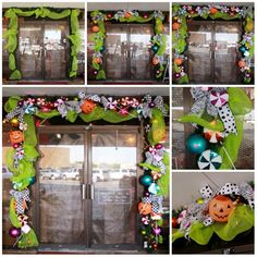 Halloween Garland - Don't be SPOOKED it's as easy as candy. Great Halloween decorating ideas http://www.showmedecorating.wordpress.com