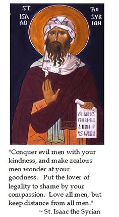 St. Isaac the Syrian on Beatitudes