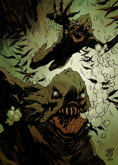 """""""Lovecraft Monsters by """""""