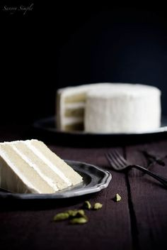Cardamom Vanilla Bean Layer Cake - Savory Simple Just Desserts, Delicious Desserts, Yummy Food, Sweet Recipes, Cake Recipes, Dessert Recipes, Cupcake Cakes, Cupcakes, Gula