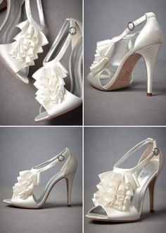 Beautiful wedding shoes at www.colourfull-ink.com