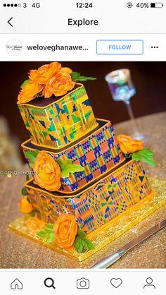 (notitle) - Welcome to Wakanda - Mariage African Wedding Cakes, African Wedding Theme, African Theme, African Weddings, African Style, Ghana Traditional Wedding, Traditional Decor, African Cake, Cupcakes