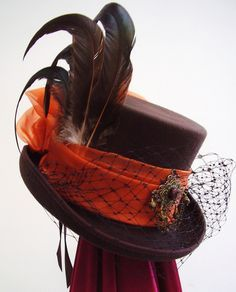 https://www.facebook.com/SWWLS.Dallas www.SocietyOfWomenWhoLoveShoes,org Brown bustle riding hat