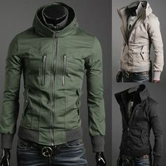 Slim fit casual jacket.