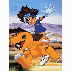 Tai and Agumon