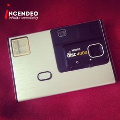 Kodak Disc 4000 Camera. #kodak #disc #film #discfilm #camera #1980s #photography #film #picture #vintage #retro #museum #incendeo #infiniteserendipity #collectibles #collection #analog #nostalgia #收藏 #珍藏 #相机 #菲林 #攝影