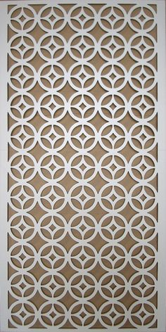 Decorative Grille Wall Panel