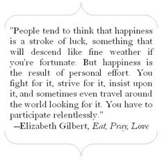 happiness - quote
