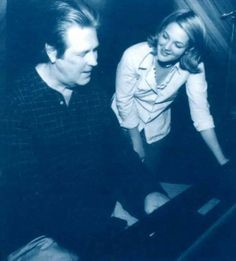 "Drew Barrymore and Brian Wilson collaborating on song ""Don't Worry Baby"" from her movie ""Never Been Kissed! Carl Wilson, Dennis Wilson, Never Been Kissed, The Beach Boys, Drew Barrymore, She Movie, The Man, Joker, Singer"