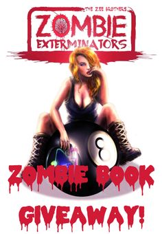 """We're giving away copies of """"The Zee Brothers: Zombie Exterminators"""" and other cool prizes. Giveaway entry period ends 1/14/2016 so act now!   http://www.zombiegift.com/zombie-blog/2016/01/07/zee-bros-giveaway/"""