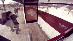 Duracell (Canada) Moments of Warmth (surprise bus shelter)