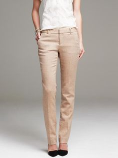 I like the style and texture of these pants.