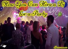 The Dj must be good enough to get the crowd up on to the dance floor. If you have found the perfect DJ, then get a agreement contract from the  professional #Djhire company and be sure to read the terms and conditions.