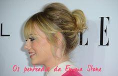 10 ideias de penteados com Emma Stone