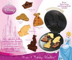 Disney Princess 5 in 1 Tasty Baker Bakes Pancake,Muffins, breads, cakes, and brownies