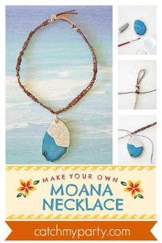 How to Make a Wonderful Moana Necklace DIY! Moana Birthday Party, Moana Party, 5th Birthday, Boy Party Favors, Birthday Party Favors, Birthday Parties, Fun Activities For Kids, Party Activities, Hawaiian Luau Party