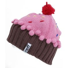 f4499be308e Neff Cupcake Beanie ❤ liked on Polyvore featuring accessories