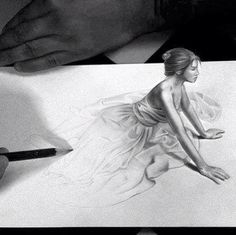 Amazing 3D drawing I wonder how this is done so well More