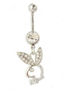 Rabbit Head Belly Button Ring