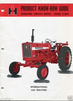 60s-International-Harvester-IH-656-Tractor-Product-Know-How-Sales-Guide-Brochure