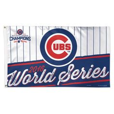 WinCraft Chicago Cubs 2016 National League Champions 3' x 5' Deluxe Flag