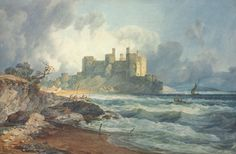 Conway Castelo, North Wales POR JMW Turner. Image: Christie Images Ltd. 2010