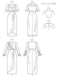 Pattern Reviews> Butterick> 6093 (Misses' Dress, Belt and Bib)