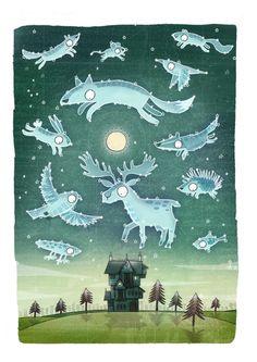 "Brendan Kearney, from the ""Constellations"" print series"