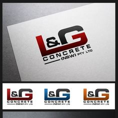 lg concrete concrete company looking for a logo providing concrete slab work mainly industrial commercial
