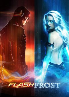 Barry Allen / The Flash and Caitlin Snow / Killer Frost Heroes Dc Comics, Arte Dc Comics, Marvel 3, Marvel Comics, Arrow Flash, Barry And Caitlin, The Flash Caitlin, Flash Tv Series, Flash Wallpaper