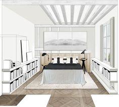 apprendre a dessiner l interieur d une maison | Aménagement ...