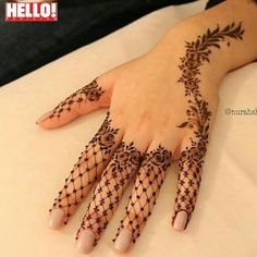 Lately, the mehndi designs have evolved into something uniquely simpler. They are comparatively more casual, easy to design and suits to every single style. A fully loaded mehndi handprint is Basic Mehndi Designs, Henna Tattoo Designs Simple, Finger Henna Designs, Mehndi Designs For Girls, Mehndi Designs For Fingers, Mehndi Simple, Beautiful Henna Designs, Latest Mehndi Designs, Mehandi Designs
