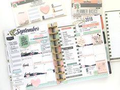 September monthly in the 'Botanical Garden' Happy Planner™ of mambi Design Team member Mary-Ann Maldonado   me & my BIG ideas