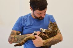 It might be hard to say good-bye to your dad, but just remember how happy you will be to see him at the end of the day! | Lil Bub's 17 Tips For Your First Day Back At School