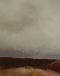 """Saatchi Online Artist: Helen Butler; Oil, Painting """"Pondering the Beauty of Grey (I)"""""""