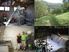Domaine du pressoir, transformation et distribution de produits à base de noix, à Rovon