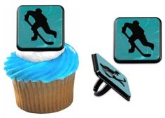 Hockey Cake Decorations on Sports Party World Hockey Birthday Parties, Hockey Party, Sports Party, Boy Birthday, Birthday Ideas, Hockey Stuff, Hockey Mom, Ice Hockey, Cupcakes