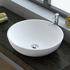 Vasque minéral à poser 30 cm