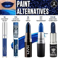 PAINT ALTERNATIVES  Please leave me your requests & thoughts in the comments!  #allintheblush #makeupslaves #trendmood #vegas_nay #makeup #beauty #hudabeauty #slave2beauty #insta_makeup #norvina #glamrezy #amrezy #makeupartist #motd #mua #makeupaddict #wakeupandmakeup #anastasiabeverlyhills #abh #dupethat #dupe #lipstick