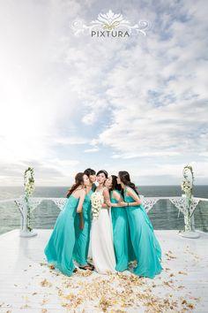 Pretty bridesmaid   Bali Wedding Photography at THE SKY, Ayana Resort by Bali Pixtura   www.OneThreeOneFour.com