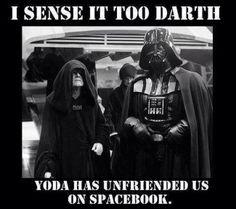 Star Wars Spacebook #Facebook #Humor