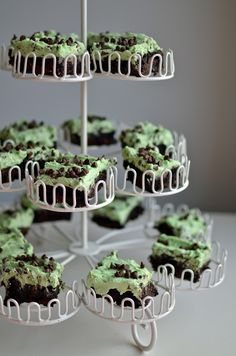 Mint Chocolate Chip Brownies!!!!