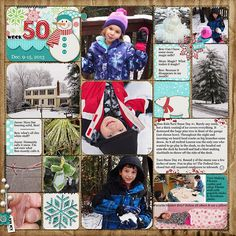 Kit: All Wrapped Up, Melissa Bennett and Bella Gypsy, SSD Background: Sturdy Solids, Shawna Clingerman, SSD Fox: Winter Woodland Collab, Meg...