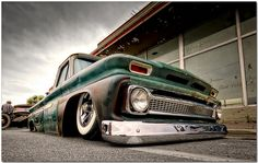 bagged 66' chevy
