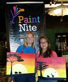 Paint nite! Thx, Mel for organizing!!!