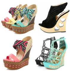 all summer sandals and wedges | decorated wedges