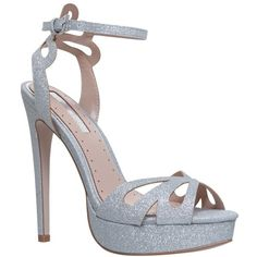 1ad97ed0d Fabienne Silver High Heel Sandals from Miss KG