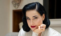 Emotional Ties with Burlesque performer, Dita Von Teese